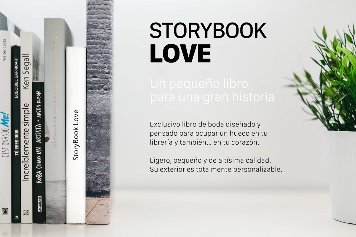 Libro de bodas storybook love xabi and cris 02